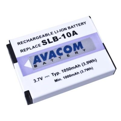 AVACOM Samsung SLB-10A Li-ion 3.7V 1050mAh 3.8Wh