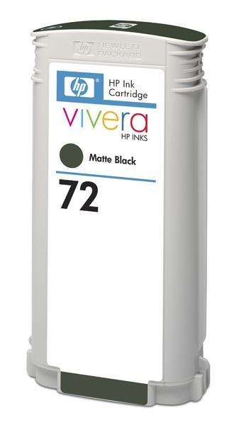 HP 72 Black matte DJ Ink Cart, 130 ml, C9403A