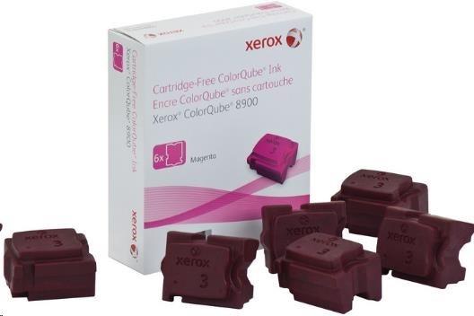 Xerox 8900 solidink MAGENTA (6 sticks), 16 900 str., DMO