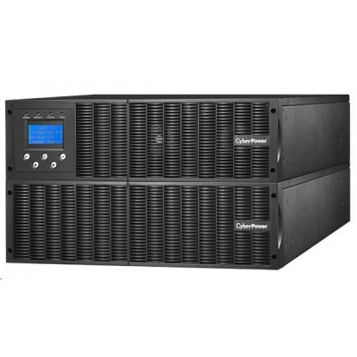 CyberPower Professional Smart App OnLine UPS 6000VA/5400W, 6U, XL, Rack/Tower, SET1 (UPS+BAT)