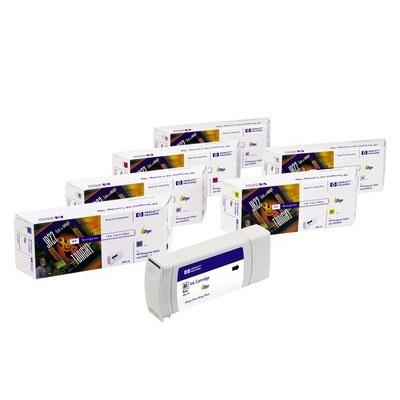 HP 81 Magenta DJ Ink Cart, 680 ml, C4932A
