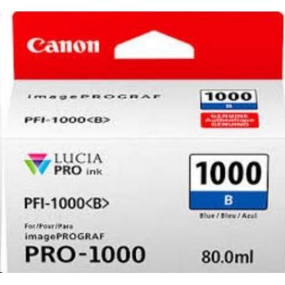 Canon BJ PFI-1000 B (Blue Ink Tank)