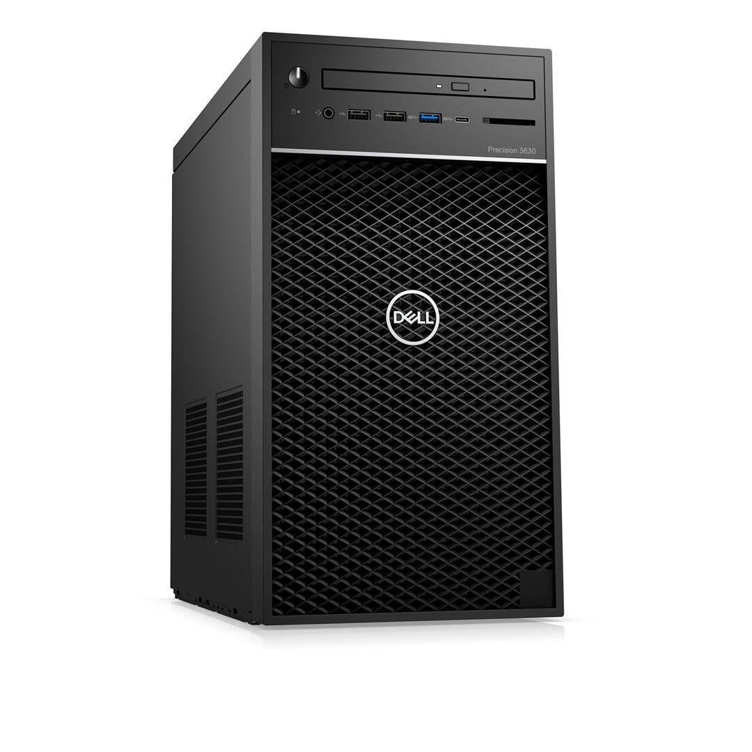 Dell Precision T3630/Xeon E-2146G/16GB/256GB PCIe+1TB 7.2k/P2000-5GB/PWR 300W/W10Pro/vPro/3Y PS NBD