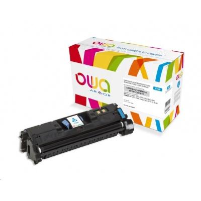 OWA Armor toner pro HP Color Laserjet 1500, 2500, 2550, 2820, 2840, 4000 Stran, C9701A,Q3961A, modrá/cyan