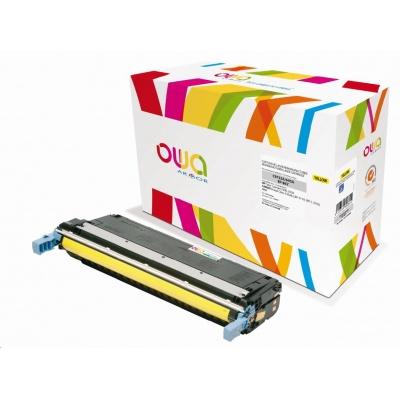 OWA Armor toner pro HP Color Laserjet 5500, 5550, 12000 Stran, C9732A, žlutá/yellow
