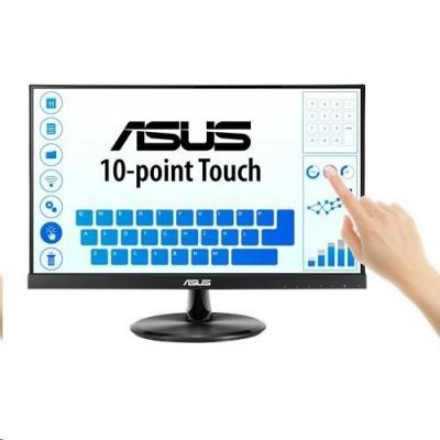 "ASUS MT dotekový display 21.5"" VT229H Touch 1920x1080, lesklý, D-SUB, HDMI, 10-point Touch, IPS, Frameless, USB"