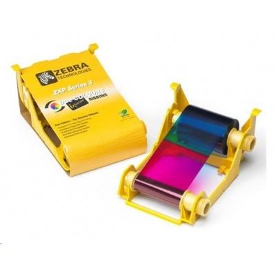 ZEBRA TTR páska ZXP3 YMCKO, barevná barvící páska
